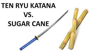 Ten Ryu Katana Vs. Sugar Cane