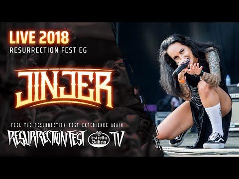 Jinjer - Live At Resurrection Fest EG 2018 [Full Show]