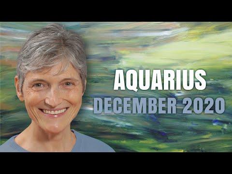 Aquarius December 2020