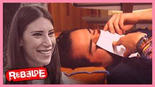 Rebelde: ¡Miguel se empieza a enamorar de Sabrina!  | Escena C311-C312-C313 | Tlnovelas