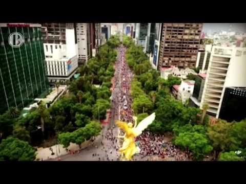 Nacional | Siete detenidos por enfrentamiento en Marcha del Orgullo de capital mexicana