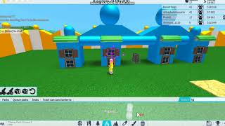 How to Build Bottle Entrance (Theme Park Tycoon 2 ROBLOX)!