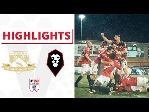 Morecambe Salford Goals And Highlights