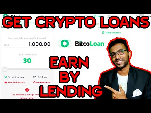 How to Get Loan without any Paper Work & Earn Money by lending Crypto | BitcoLoan