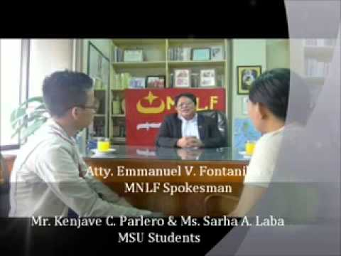 Part 2 MNLF Spokesman on Zamboanga Crisis 2 Travel Video