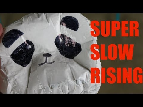 DIY JUMBO and SUPER SLOW RISING Duct Tape Squishy