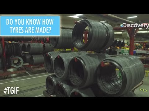 How Tyres Are Made | The Great Indian Factory