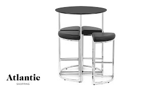 Scope Bar Stools And Table