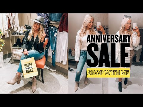 Nordstrom Anniversary Sale 2020 | Shop with me in store!