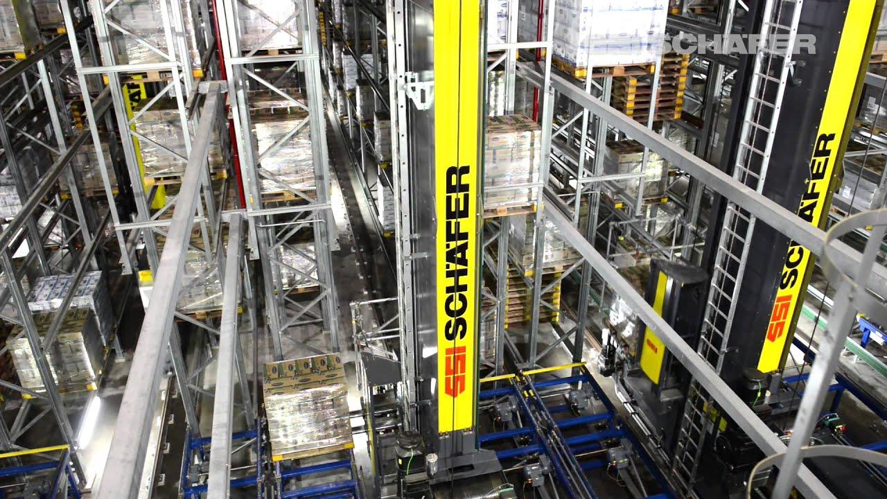 Storage And Retrieval Machine High Bay Warehouse