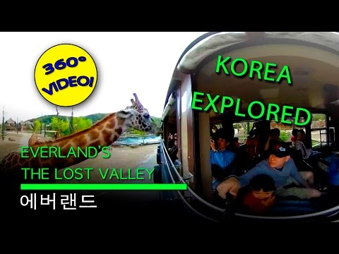 Everland and the Lost Valley Ride 360 Video - 에버랜드