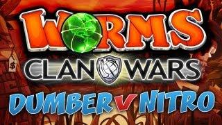 Worms Clan Wars: DUMBER VS NITRO | Ep.1, It Begins!