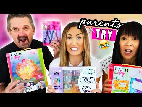 My Parents Test LaurDIY Products