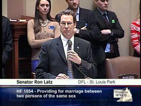 Senate Speeches on Same-Sex Marriage Legislation