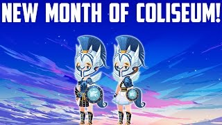 NEW MONTH OF COLISEUM - Kingdom Hearts Unchained X