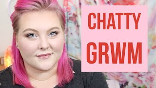 Weight Loss - Chatty GRWM! Why I Was in Oregon, Channel Updates + My Weight Loss Journey! | Lauren Mae Beauty