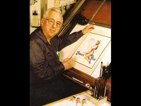 Veterans Day Special  Owen Hughes WWII Airplane Nose/Pin-up Artist