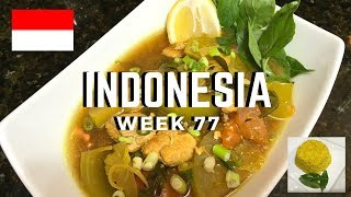 Second Spin, Country 77: Indonesia [International Food]