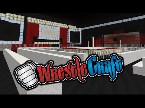 【WrestleCraft】Building the Convention Center! (PART 2)