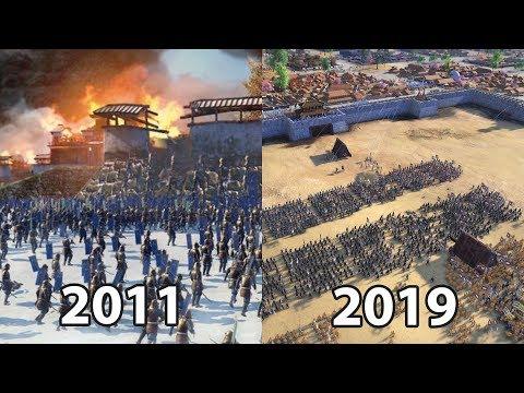 Total War: SHOGUN 2 Vs Total War: THREE KINGDOMS