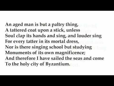 """Sailing to Byzantium"" by W B Yeats (read by Tom O'Bedlam)"