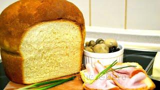Воздушный нежный молочный хлеб (замес на живых дрожжах) | Как приготовить домашний молочный хлеб