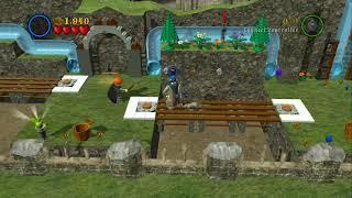 LEGO Harry Potter Years 1-4 - Gringotts Vault - Bonus Level #5 - Gold Brick #195