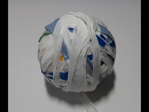 Draad Maken Van Plastic Tasjes Youtube