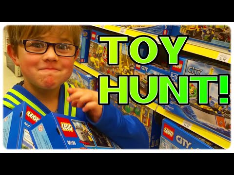 TOY SHOPPING HUNT | TARGET, TOYS R US & Barnes And Noble | RadioJH AUTO