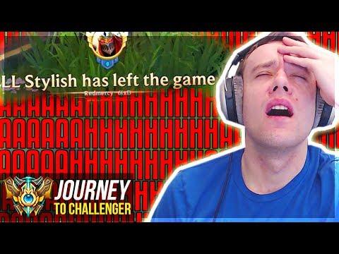 AAAAAAAAHHHHHHHHH!!!!!!!!!! - Journey To Challenger   League of Legends
