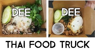 Thai food truck in Austin: Dee Dee