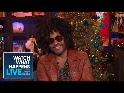 Lenny Kravitz On Zoe Kravitz Working With Ex Nicole Kidman | WWHL