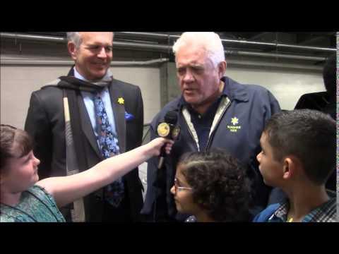 Morgan Interviews GW Bailey, Tony Denison and the Sunshine Kids