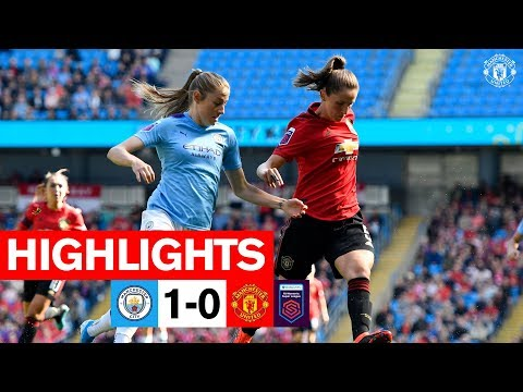 Highlights | Man City Women 1-0 Manchester United Women | FA Women's Super League