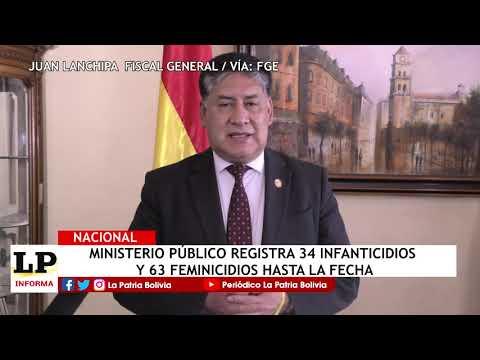 Ministerio Público registra 34 infantic...