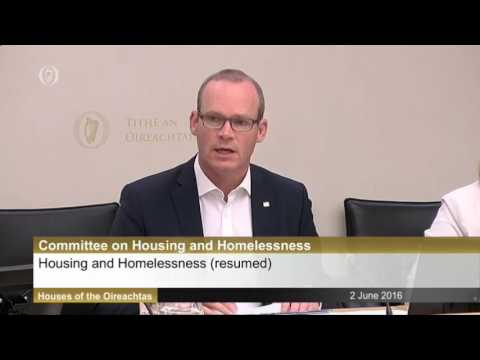 Discussions With Minister for Housing Simon Coveney Part 1