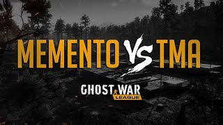 GHOST WAR PRO LEAGUE TOURNAMENT   MEMENT0 vs TMA   Ghost War Pro League Tournament