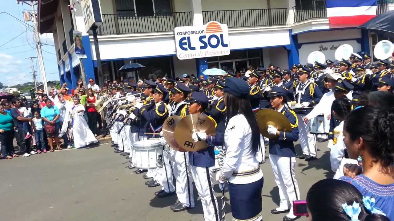 Patria  Banda de Musica Colegio Jose Daniel Crespo  YouTube