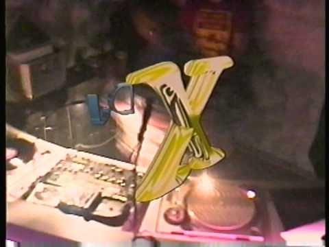 DJ X @ Cyberzone Orlando for NYE 2000