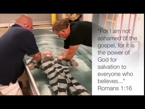 Scott County jail baptisms