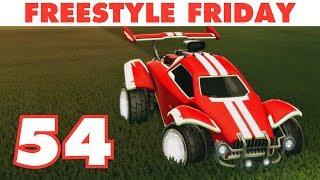 WHITE OCTANE Freestyle Friday 54   Rocket League Best Goals & Funny Moments