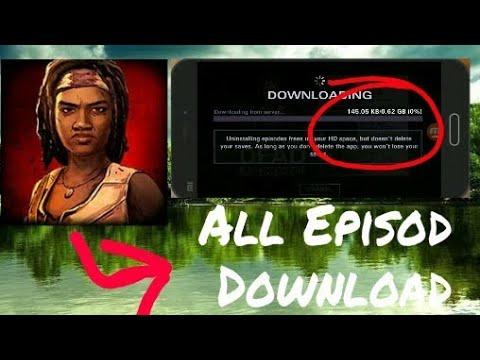 How To Unlock All Episod On The Walking Dead Michonne Mod In All Gpu 1000% Works With Prove 😎😎😎👍👍👍👍👍