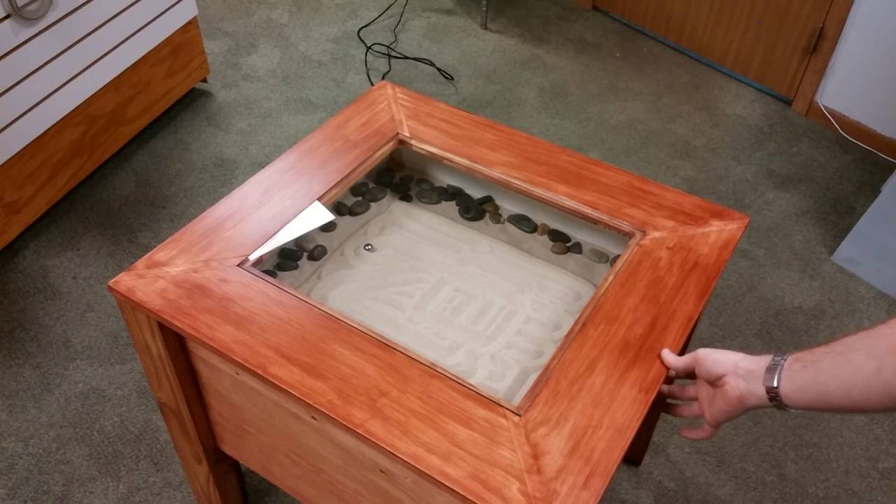 Coffee Table Zen Garden