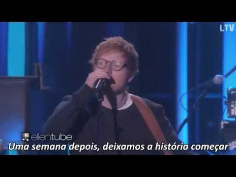 Ed Sheeran - Shape of You Legendado ( TheEllenShow ) |HD|