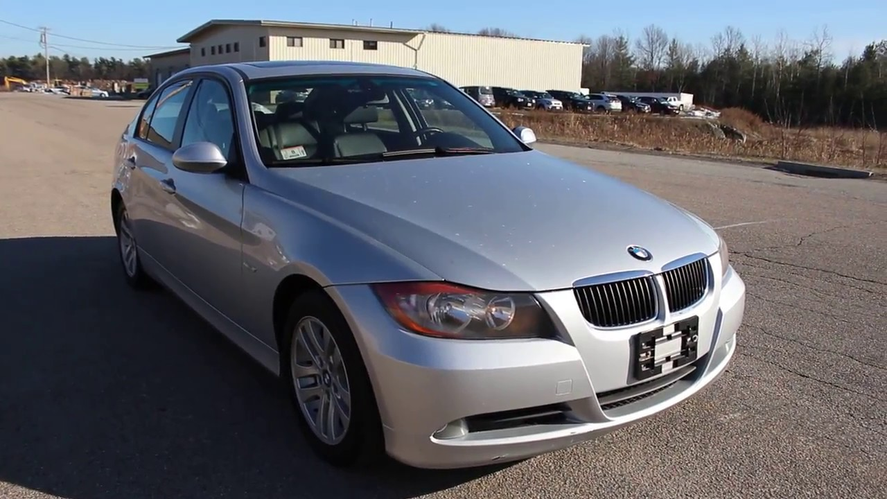 BMW I Silver Speed Manual YouTube - Bmw 325i 2006 manual