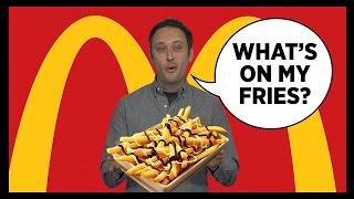 Chocolate Fries & Mashed Potato Burgers from McDonald