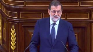 Rajoy irónico sobre Irene Montero, Pablo Iglesias y Podemos