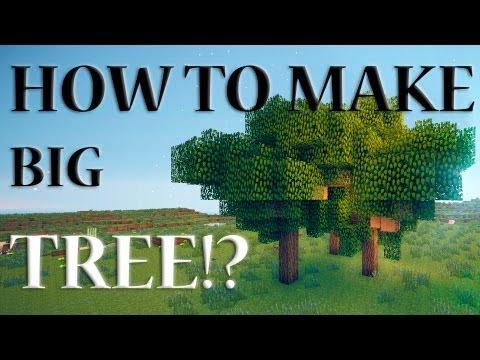 Minecraft: Как вырастить большое дерево - ПОДГОТОВКА