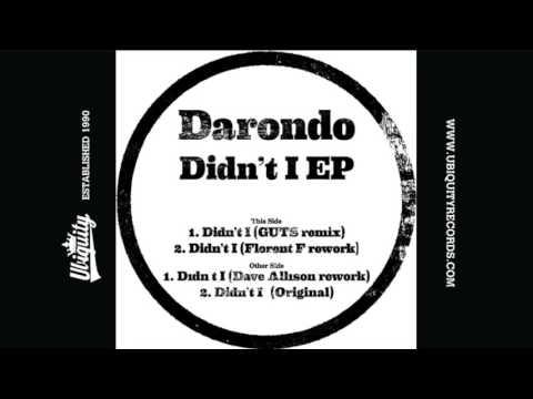 Darondo (feat. Dave Allison): Didn't I (Dave Allison Rework)