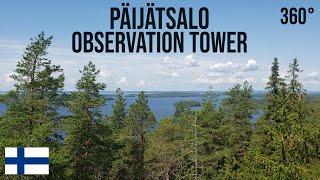 Päijätsalo Observation Tower - Päijätsalon Näkötorni VR 360° (Finland)